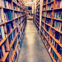 Photo taken at Powell's City of Books by Kapil D. on 4/26/2013