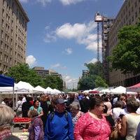 Photo taken at FRESHFARM Market by the White House by Rebekah J. on 5/9/2013