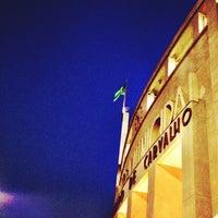 Photo taken at Estádio Municipal Paulo Machado de Carvalho (Pacaembu) by Eduardo A. on 6/9/2013