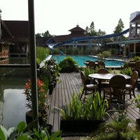 Photo taken at Taman Air Sabda Alam Hotel & Resort by Kikania L. on 1/20/2013