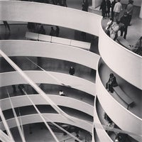 Photo taken at Solomon R. Guggenheim Museum by Armando M. on 4/21/2013