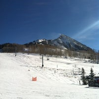 Photo taken at Crested Butte Mountain Resort by Ed C. on 12/12/2012