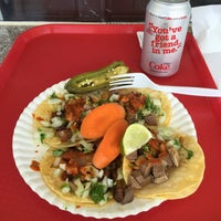 Photo taken at Tacos El Grullense #1 by Cornell C. on 5/24/2016