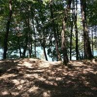 Photo taken at Lago di Suviana by Vittore L. on 7/27/2013