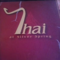 Photo taken at Thai Silver Spring by Dave M. on 3/24/2013