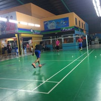 Photo taken at Pro One Badminton Centre by Ean S. on 11/4/2016