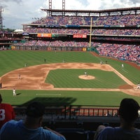 Photo taken at Citizens Bank Park by Anna on 7/13/2013
