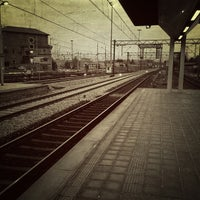 Photo taken at Stazione Novate Milanese by Jacopo F. on 12/13/2012