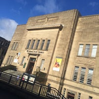 Photo taken at Huddersfield Library & Art Gallery by Msh3an A. on 3/2/2016