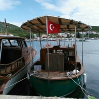 Photo taken at Akkum Liman, Ozbek Koyu by Erkan D. on 5/6/2016