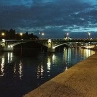 Photo taken at Pont de Levallois by Tatiana S. on 9/20/2016