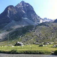 Photo taken at Julierpass by Laura S. on 7/15/2013