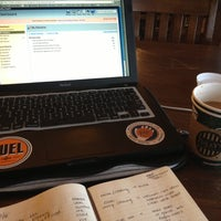 Photo taken at Tully's Coffee by Erika N. on 12/6/2012