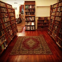 Photo taken at Borderlands Books by Mary B. on 12/10/2012