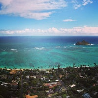 Photo taken at Lanikai Pillboxes Hike by Mary B. on 2/6/2013