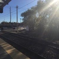 Photo taken at MetroLink - Wellston Station by afroKISHiac💚 N. on 10/13/2015
