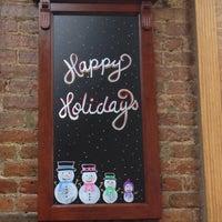 Photo taken at La Tropezienne Bakery by Mia on 12/31/2012