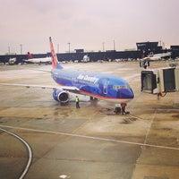 Photo taken at Baltimore / Washington International Thurgood Marshall Airport (BWI) by John M. on 2/1/2013