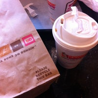 Photo taken at Dunkin' Donuts by Valeriya on 4/19/2013