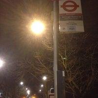 Photo taken at TfL Bus 21 by turtle q. on 3/1/2014