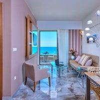 Photo taken at ILIOS beach hotel by Nikosp20 ✨ on 8/21/2014