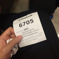 Photo taken at Maybank by Tyra on 11/22/2016