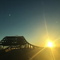 Photo taken at Piscataqua River Bridge by paddy M. on 10/6/2016