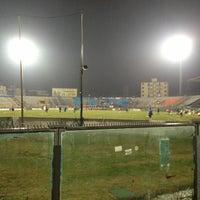 Photo taken at Arena Garibaldi - Stadio Romeo Anconetani by Erdem A. on 2/11/2013