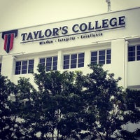 Photo taken at Taylor's College Subang Jaya by Oohh W. on 6/14/2013