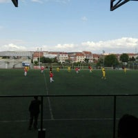 Photo taken at Abdurrahman Temel Futbol Sahası by Sueda T. on 5/25/2016
