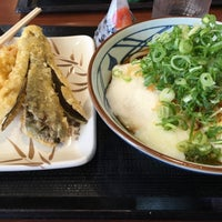 Photo taken at 丸亀製麺 熊本佐土原店 by totomo on 8/9/2016