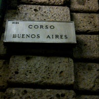 Photo taken at Corso Buenos Aires by Ayca S. on 11/14/2012
