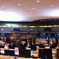 Photo taken at European Parliament Meeting Room JAN 2Q2 by Anna A. on 11/13/2012