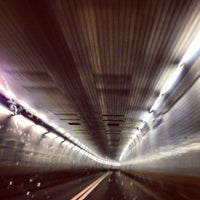 Photo taken at Holland Tunnel by Mike L. on 12/25/2012