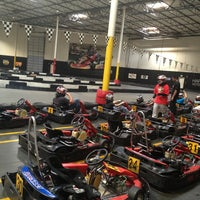 Photo taken at Fast Lap Indoor Kart Racing by Huzaimi on 1/21/2013