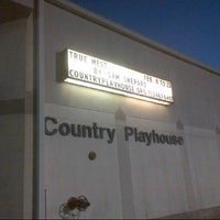 Photo taken at Country Playhouse by Bob G. on 2/8/2013
