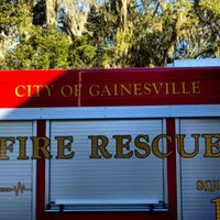 Photo taken at Gainesville Fire Rescue Station #3 by Reuben Z. on 10/30/2012
