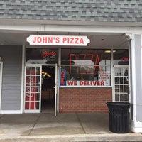 Photo taken at John's Pizzeria & Restaurant by Matt J. on 5/9/2015