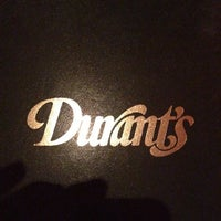 Photo taken at Durant's by Kelly J. on 11/21/2012