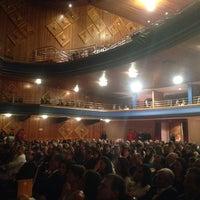 Photo taken at Teatro SESC Glória by Charlene B. on 9/27/2014