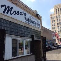Photo taken at Moon's Sandwich Shop by Eli O. on 7/22/2014