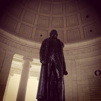 Photo taken at Thomas Jefferson Memorial by Andy C. on 5/11/2013
