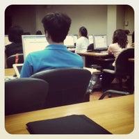 Photo taken at Satang Library by นักเดินทาง ค. on 10/1/2012