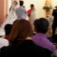 Photo taken at Gereja Katolik Kristus Raja by HD Z. on 10/20/2012