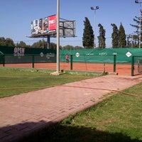 Photo taken at Tennis Club De L'Avenir Sportif De La Marsa by Ahmed F. on 4/26/2013