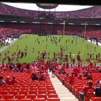Photo taken at Arrowhead Stadium by Sterling M. on 9/29/2013