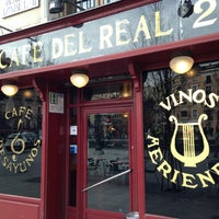 Photo taken at Café del Real by David C. on 3/19/2013