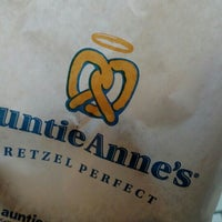 Photo taken at Auntie Anne's by Mike D. on 2/23/2016