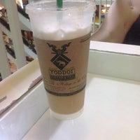 Photo taken at Yoddoi Coffee & Tea by Dhla S. on 3/13/2014
