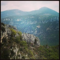 Photo taken at Gorges du Loup by Romain C. on 5/9/2013